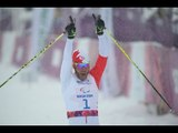 Incredible: Brian McKeever falls but still wins gold | 1km cross country sprint | Sochi 2014