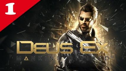 Deus Ex : Mankind Divided #01 - Difficile | Let's Play en direct FR