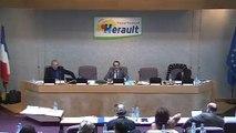 [14 mars 2017 - deuxième partie] Session publique du Conseil départemental de l'Hérault - Vote du budget