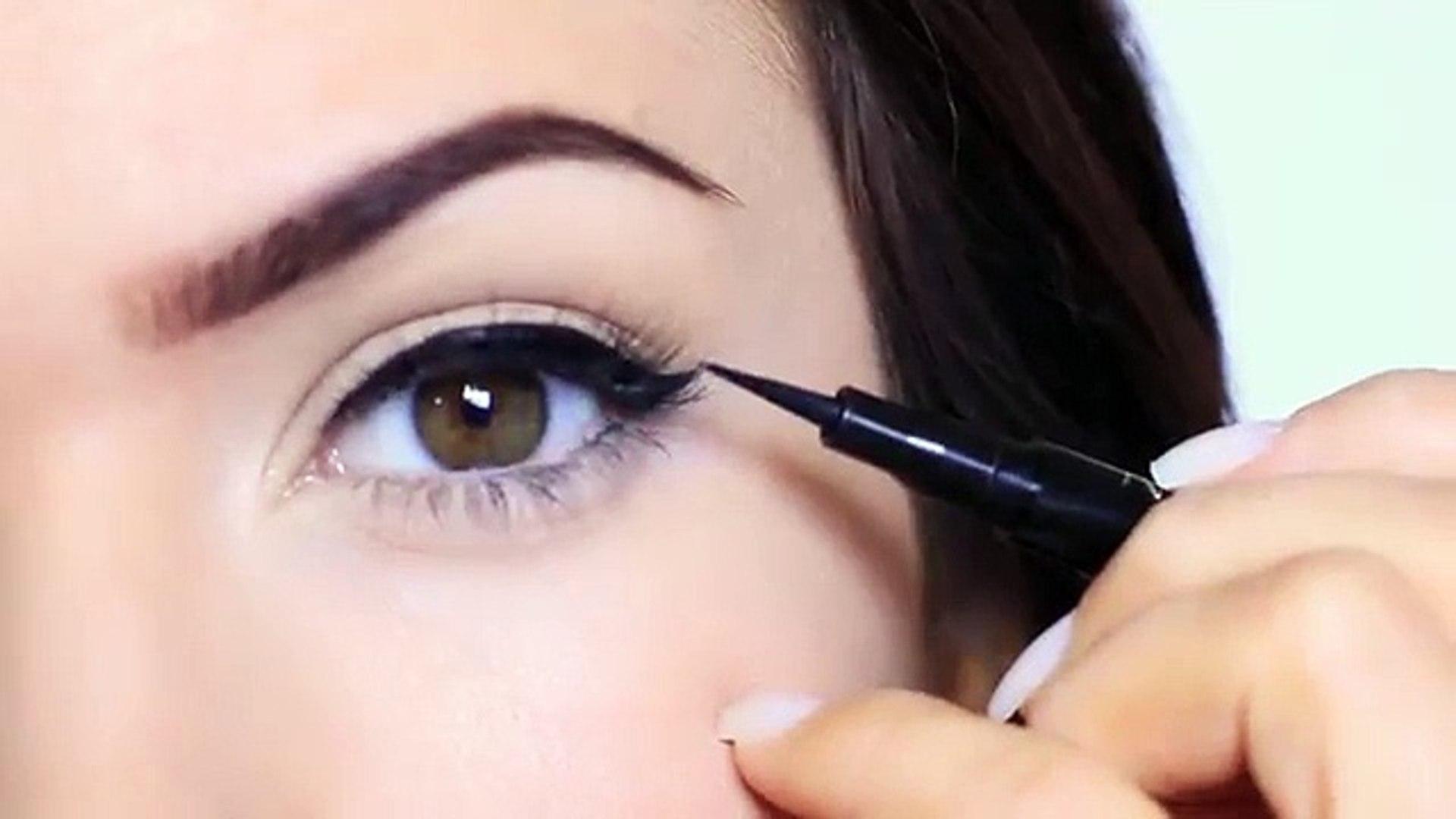 Eyeliner tutorial for beginner step by step tutorials
