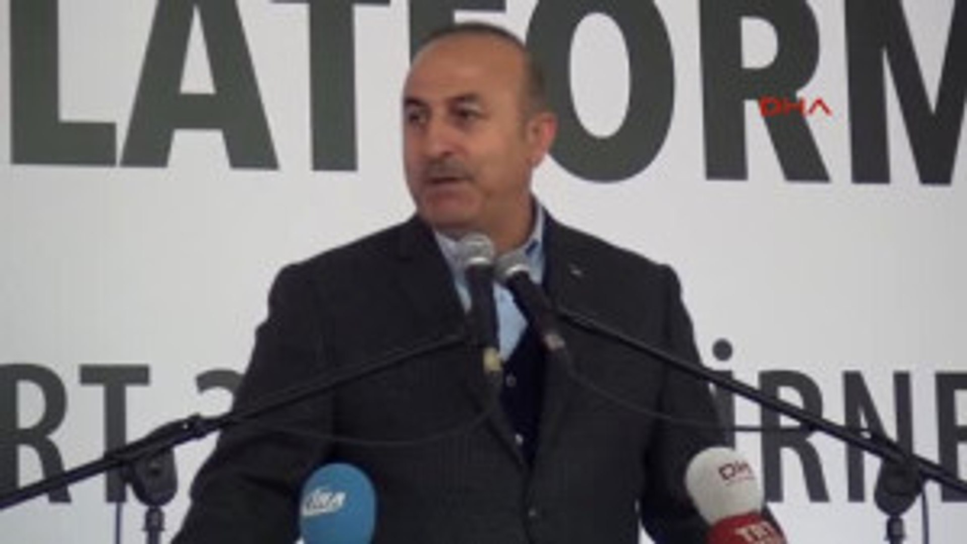 Edirne Bakan Çavuşoğlu: Avrupa Birliği Dağılıyor, Korkunun Ecele Faydası Yok