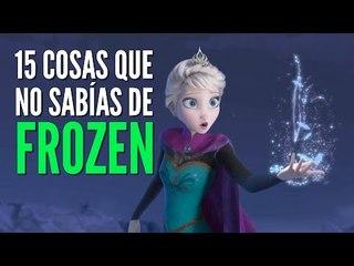 15 cosas que no sabías sobre Frozen