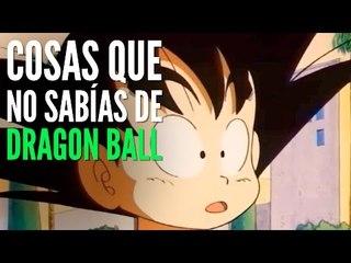 10 Cosas que no sabías de Dragon Ball