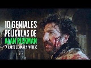 10 Geniales películas de Alan Rickman (aparte de Harry Potter)
