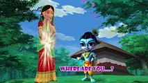 Little Krishna Finger Family _ New Nursery Rhyme - Famous Kids Rhymes _ Busta Action Rhymes