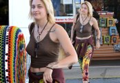 Braless Paris Jackson Bares Her Nipple Rings In A Tiny Top