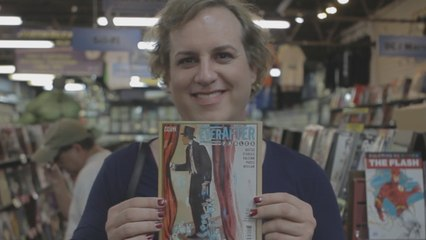 This transgender comic book author is ready to publish as a woman