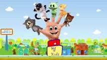 Finger Family Cat - Nursery rhymes for children - Finger family song - Family Finger Cat