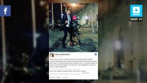 Photo of man humping 'Fearless Girl' statue goes viral
