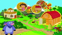 Cartoon game. Dora The Explorer - Dora Saves the Farm Game. Full Episodes in English 2016