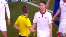 Samir Nasri expulsé avec Séville à Leicester en Ligue des champions (vidéo)