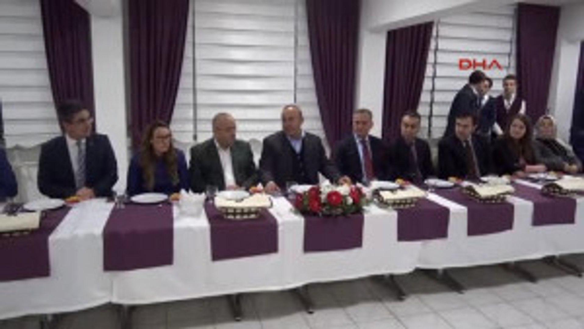Çanakkale - Bakan Çavuşoğlu: Avrupa Birliği Dağılıyor, Korkunun Ecele Faydası Yok