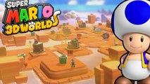 Super Mario 3D World #28 - Rolete de Espinhos  WII U Gameplay 1080p Comentado em PT-BR