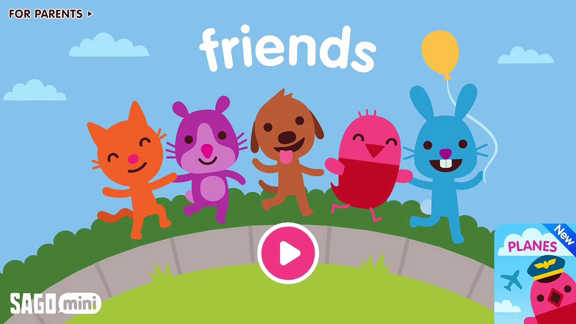 Sago Mini Friends - Best Kids Education App - Game Kids Top