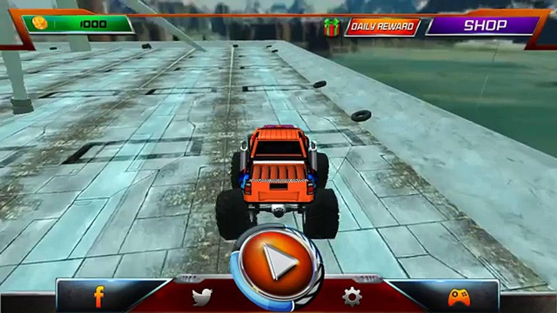Монстр грузовик Дерби 2016 андроид геймплей HD