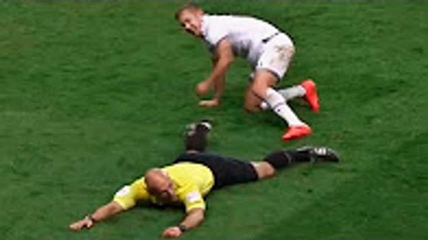 Players vs Referees ● Fights, Funny, Skills & Assist ● HD