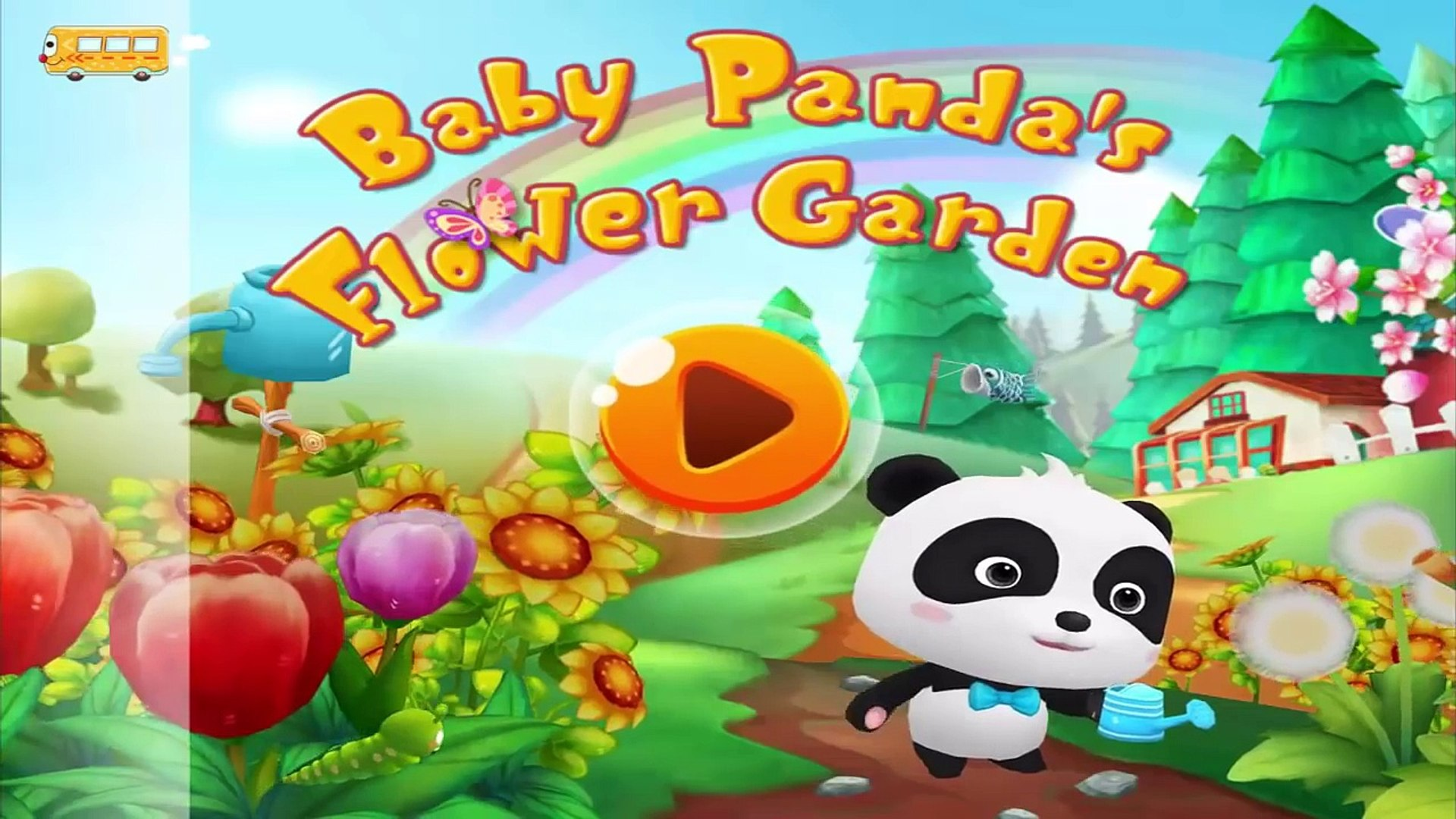 Baby Pandas Flower Garden - Babybus Gameplay Video include Baby Farming, Planting & Harve