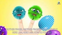 Lollipops Finger Family Songs Nursery Rhymes - The Finger Family Lollipop Family Nursery R