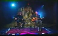 Sting and Dominic Miller - live 1999 Brand new day - acoustic version @Late night show