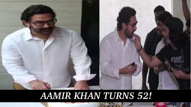 Aamir Khan Celebrates His 52nd Birthday!