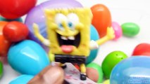 30 Surprise Eggs! Disney CARS Frozen HELLO KITTY SpongeBob LPS Toy ANIMALS MARVEL Spider P