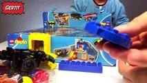 Duplo Lego Batcave Adventure Batman and Superman Jail Catwoman and Batmans Twin