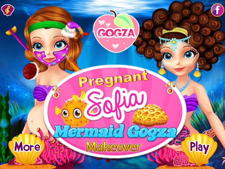Дисней эпизод Первый для полный игра к к к к к к макияж Русалка беременные Принцесса София в