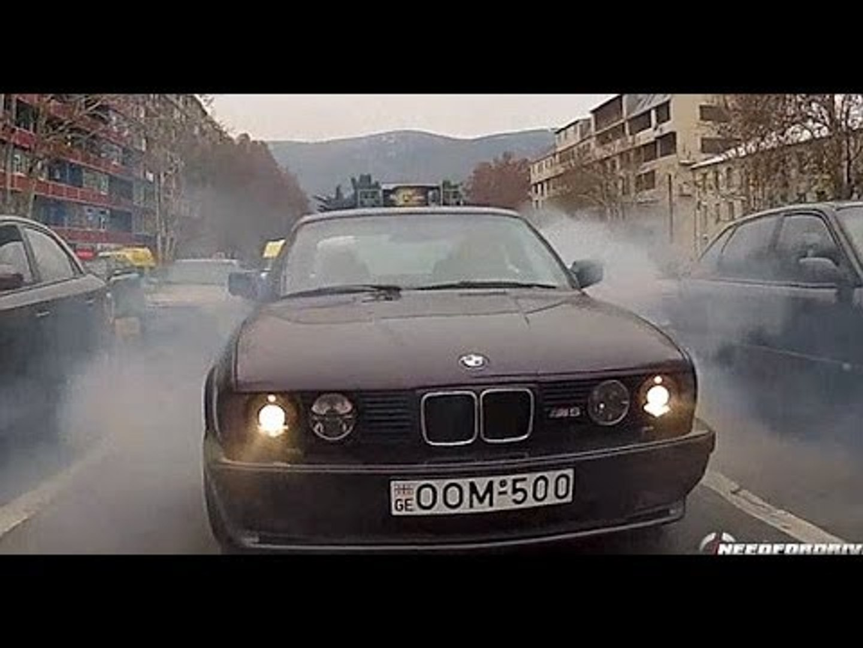 Street Drifting In Georgia Bmw M5 E34 Video Dailymotion