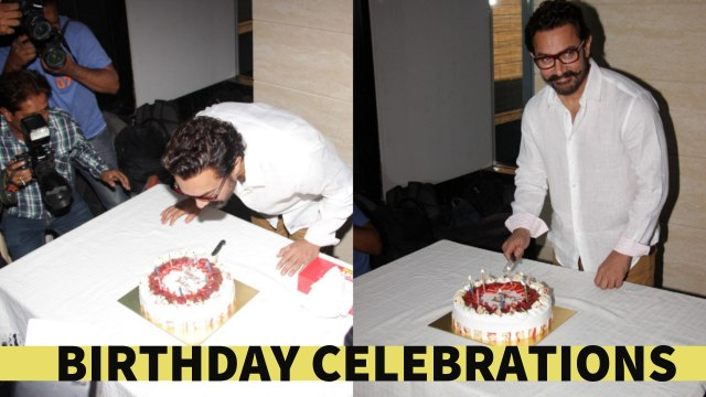 Aamir Khan Celebrates His 52nd Birthday With His Fans