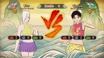 Naruto Shippuden Ultimate Ninja Storm Revolution: Sakura Vs Ino & Hinata Vs Tenten - Bikin