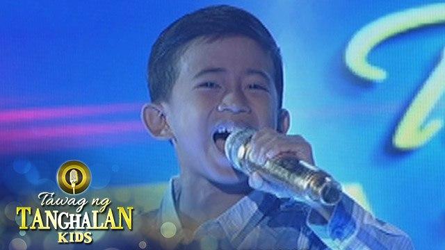 Tawag ng Tanghalan Kids: Jhon Clyd Talili | Lipad Ng Pangarap