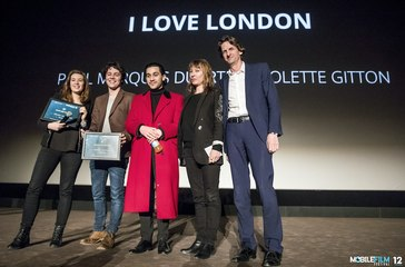 Paul Marques Duarte & Violette Gitton - I Love London - Mobile Film Festival 2017 - Award Ceremony