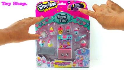 3. и Коллекция Классно крем сливочный эксклюзивный справедливая питание лед Набор для игр время года игрушка видео shopkins