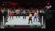 Raw 3-17-17 Brian Kendrick and Tony Nese Vs TJ Perkins and Akira Tozawa