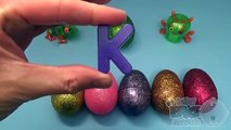 Disney Inside Out Surprise Egg Learn A Word! Spelling Words Starting With K ! Lesson 1