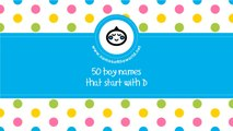 50 boy names that start with D - the best baby names - www.namesoftheworld.net