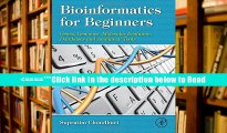 Read Bioinformatics for Beginners: Genes, Genomes, Molecular Evolution, Databases and Analytical