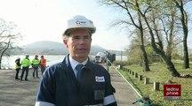 Ardèche/Cruas : centrale nucléaire, un générateur de vapeur de 300 tonnes déchargé au port