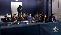 """Stéphane le Foll très étonné face aux journalistes lors de son point presse aujourd'hui: """"Vous n'êtes pas nombreux!"""""""