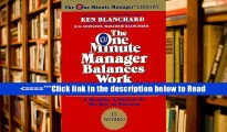 Read The One Minute Manager Balances Work and Life (One Minute Manager Library) PDF Best Online