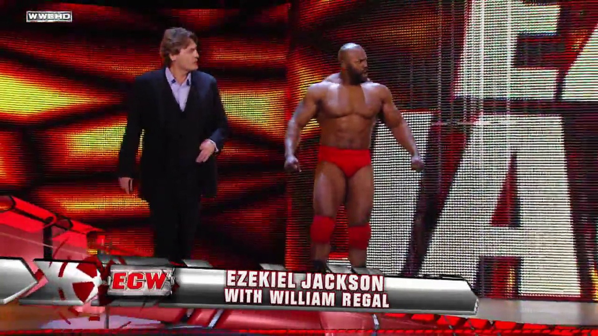 ECW  Gregory Helms  interview with Ezekiel Jackson and