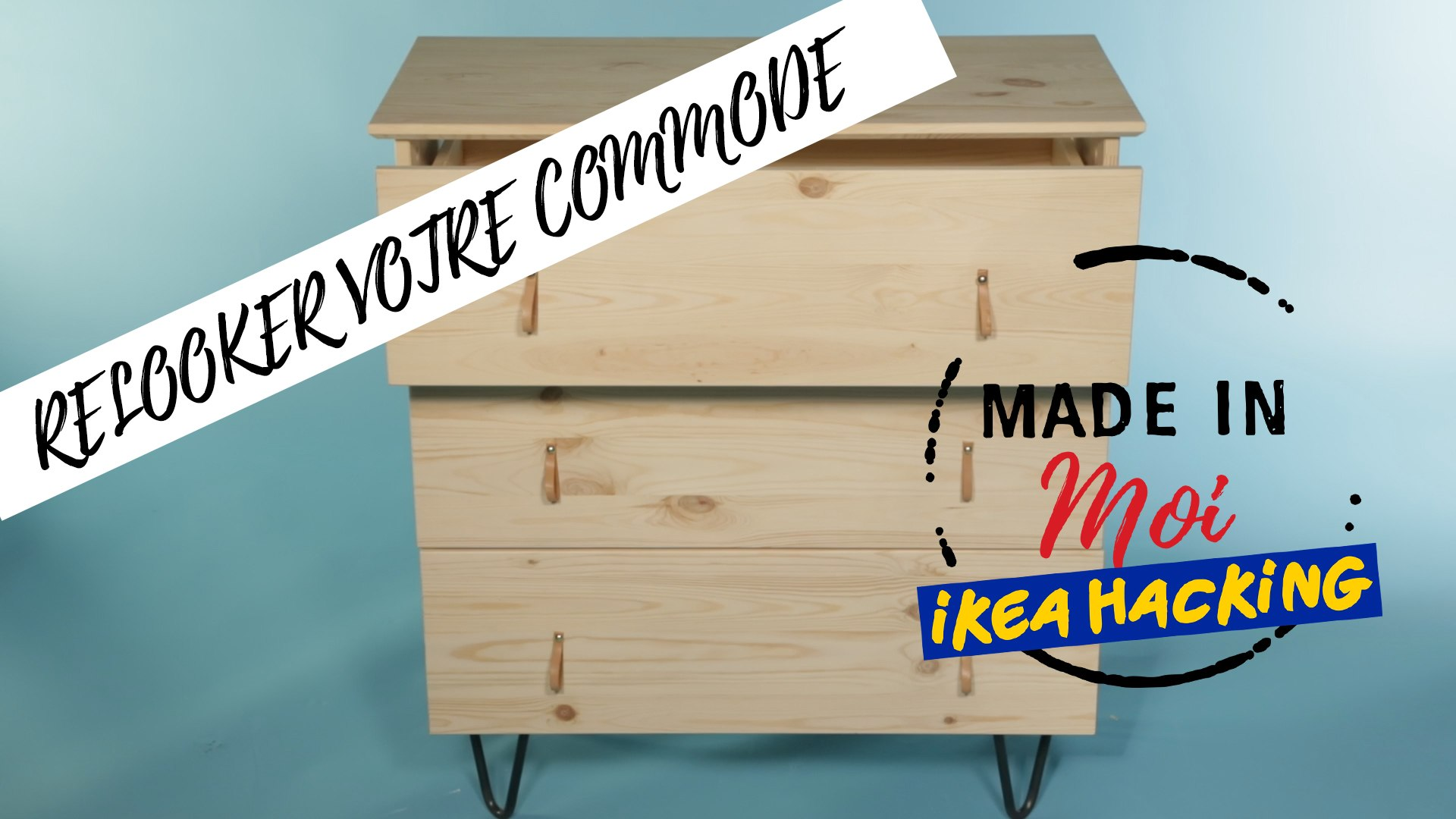 Comment Customiser Une Armoire made in moi : comment relooker votre commode ikea ?
