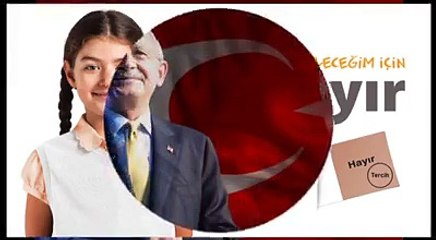 CHP Yeni HAYIR Şarkısı Videosu 'Gel Kurtul Bir Hayırla' Emel Sayın Mavi Boncuk