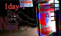 Nepal,1d-1,Kathmandu Travel of Japanese,Dance bar,Night of Nepal,Girl,Thamel