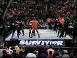 WWE - Survivor Series 2001- WWF vs WCW Battle Royal Match -