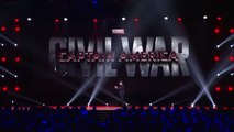 Captain America: Civil War: Chris Evans & Anthony Mackie at D23 Expo new Presentation