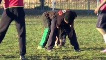 Alpes du Sud : Après le ski et le rugby, les migrants invités à jouer au football à Digne