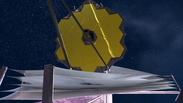 James Webb Telescope Deployment video for October 31, 2021