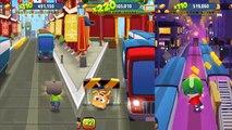 Talking Tom Gold Run Android Gameplay - Talking Angela VS Talking Ginger VS Talking Hank E