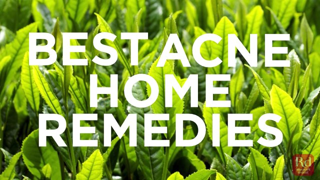 best acne home remedies